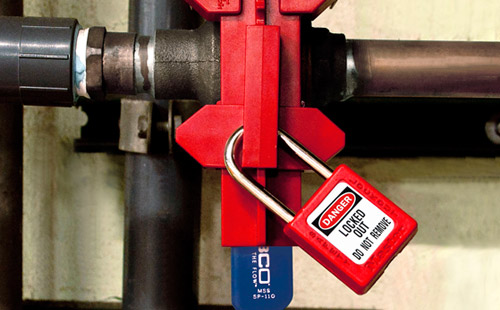 S3081 Adjustable Ball Valve Lockout