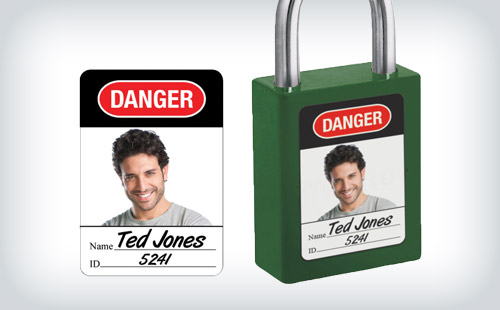 Photo Identification Labels