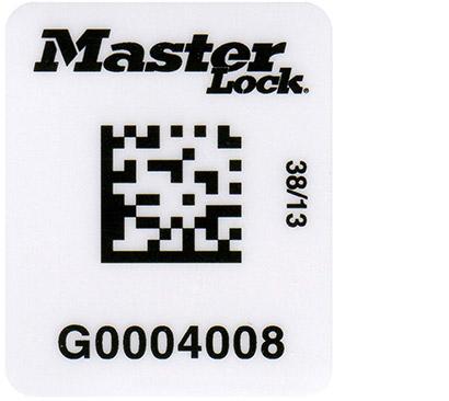 Etiqueta de código de barras S150