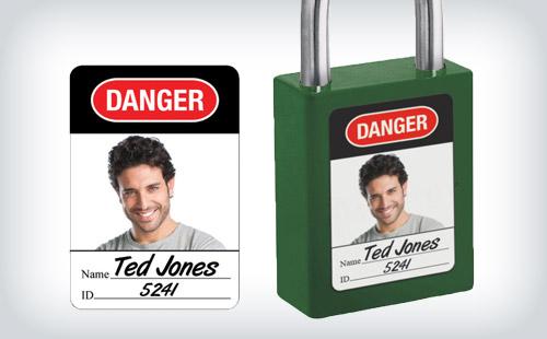 Etiquetas para cadeados