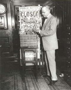 Master Lock put to work during prohibition