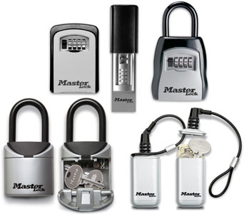 Master Lock introduced a storage security line