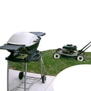 Grills & Lawnmowers