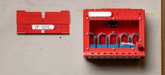 S3650 Group Lock Box with Wall Mounting Bracket