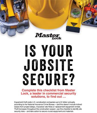 Job Site Security Checklist