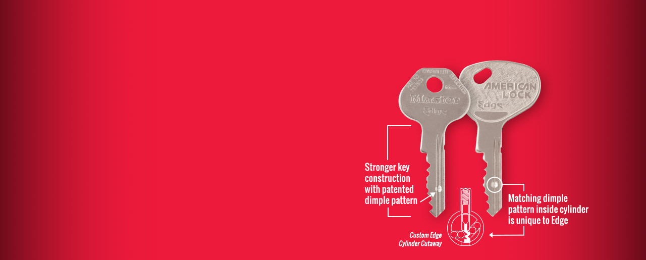 Stronger Key Construction With Patented Dimple Pattern