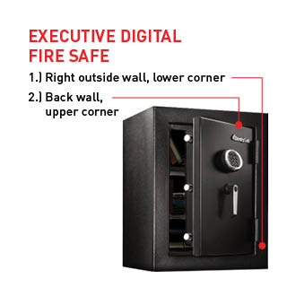 Executive Digital Fire Safe