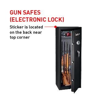 Gun Safes (Electronic Lock)