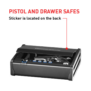 Pistol And Drawer Safes