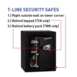 T-Line Security Safes