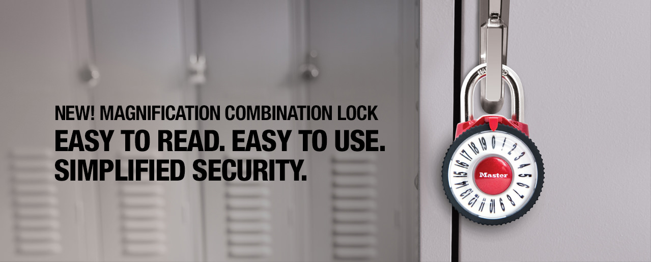 1588D Magnification Combination Lock