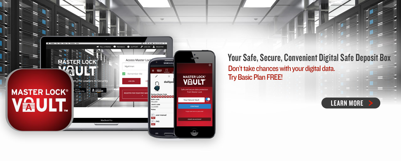Your Safe, Secure, Convenient Digital Safe Deposit Box