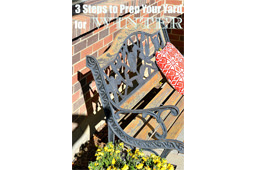 3 Steps To Prep Your Yard For Winter
