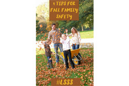 4 Tips For Fall Family Safety
