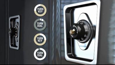 Button-less Combination Change Process