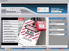 Masterlock Safety Website