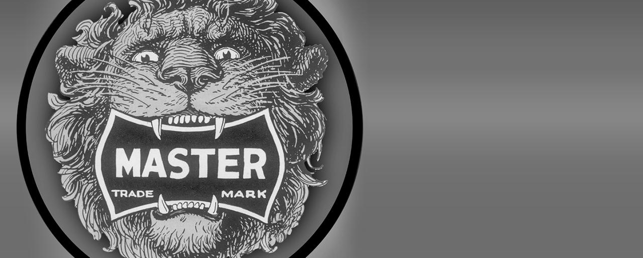 Il leone di Master Lock
