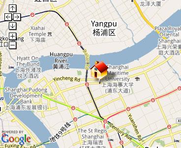 Map of Master Lock China