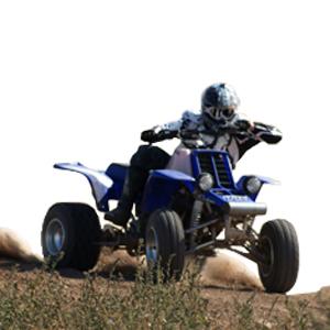 ATVs e equipamento todo o terreno
