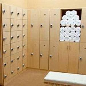 Cacifos em instalações de saúde e recreativas