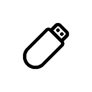 Dispositivos de armazenamento, unidades USB
