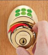 Turn to Lock or Unlock