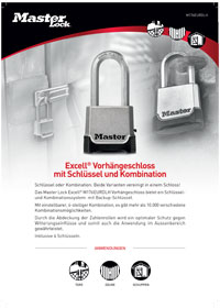 Padlocks Product Sheets