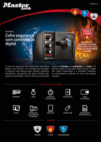 Safes And Storage Security Product Sheets