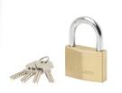 钥匙开启挂锁