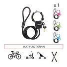 自行车手铐锁