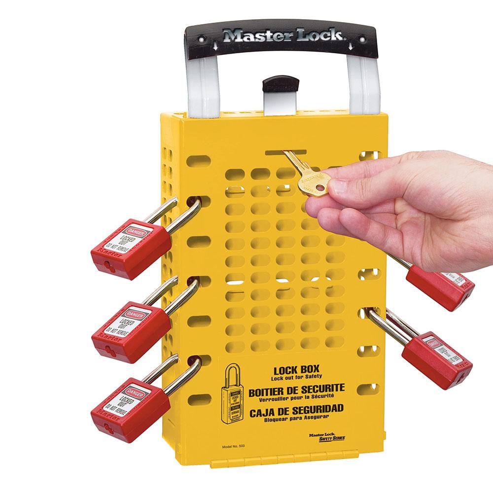 Model No 503ylw Group Lock Box Master Lock