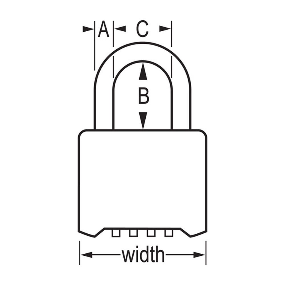 resettable combination lock instructions