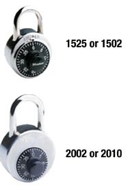 Portable lock model numbers