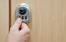 Candados para usuarios múltiples: apertura de puerta de casillero