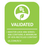 Logotipo de 406 Series UL Environment