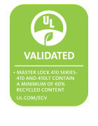 Logotipo de 410 Series UL Environment