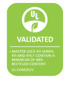 411 Series UL Environment logo