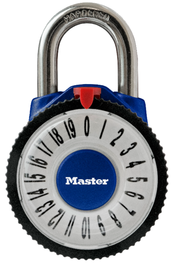 1588D Magnification Combination Padlock