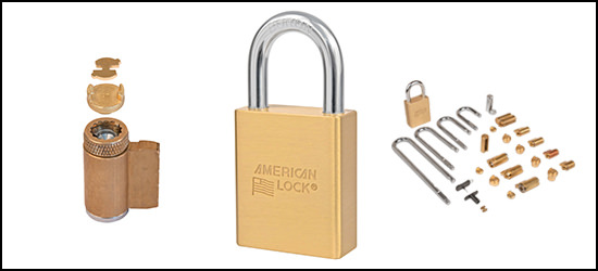 A3650 Series Multi-Cylinder Key-in-Knob Padlock