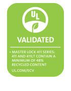 411 Series UL Environment logo