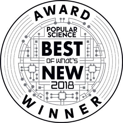 Popular Science 2018 Award Winner