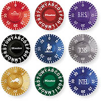 1502 1525 1572 1585 Engraved Dials