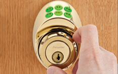 Door Hardware: Electronic keypad