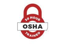 30 Hour OSHA Trained