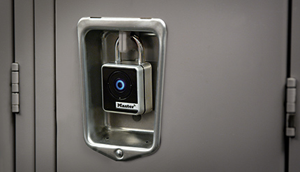 Bluetooth access lock on locker