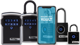 Master Lock Vault Enterprise Bluetooth family of products.