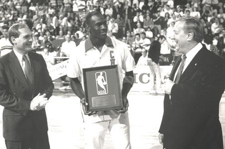 Michael Jordan named Master Lock NBA defensive player of the year