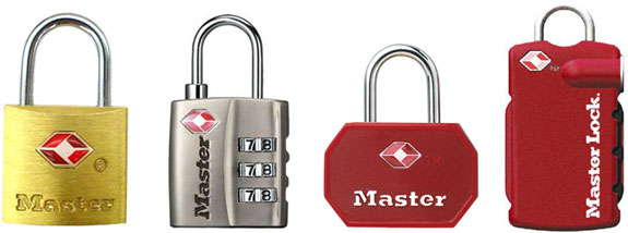Master Lock introduced its first TSA approved travel lock number 4680. A new TSA approved sku was introduced every year until 2010