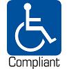 Logotipo de cumplimiento con la normativa