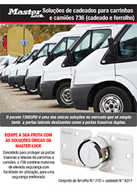 Soluções de cadeados para carrinhas e camiões